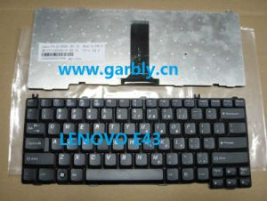Laptop Keyboard for Lenovo E43 Black Layout Us