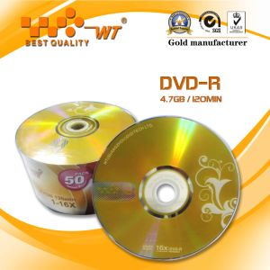 Recordable DVD-R Blank Disc with 16x Recording Speed