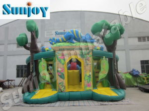 2010 Inflatable Jungle Bouncer and Slide, Combos, Funcity