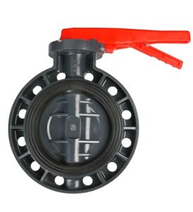 Dn50 Plastic PVC Butterfly Valves pictures & photos