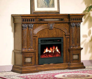 Electric Fireplace for Home Decoration and Heating (607)