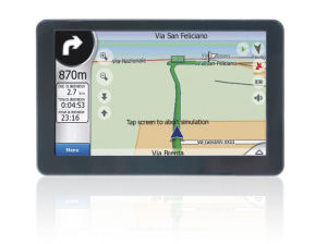 "5.0"" GPS Navigator With Atlas-V, 4GB Memory (5020H)"