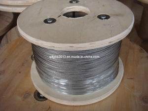 Stainless Steel Wire Rope and Cable (1X19 2.0mm Bright)