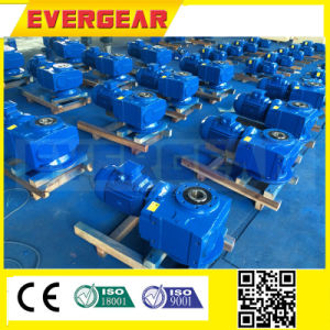 S Helical-Worm Right Angle Gearbox /Geared Motor pictures & photos