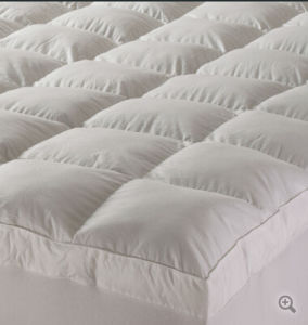 White Goose Down Hotel Mattress Topper/Pad (BS-MP025)