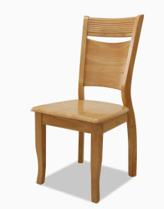 Solid Wood Dining Chair (H-H0266)
