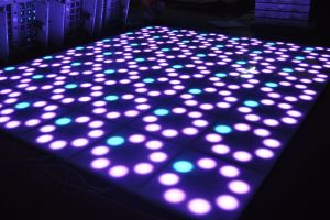 Wedding Stage DJ Lighting DMX Control Flower 60*60cm RGB LED Flower Dance Floor pictures & photos