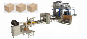 Automatic Carton Packing Line (LB450-3) pictures & photos