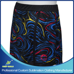 Custom Made Sublimation Girl′s Lacrosse Sporting Kilt Skirt pictures & photos