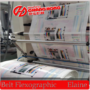 Offline Corona Treated Flexo Printing Machine for HDPE/PP pictures & photos