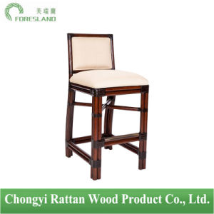 Natural Rattan Windsor Barstool Bar Chair Stools
