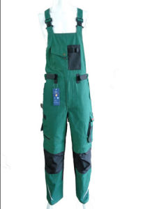 2017 Hot Good Quality Green Bib Pants Overall Work Cloth Workwear Apparel Short Coverall
