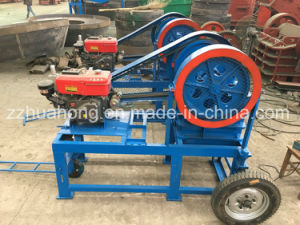 Large Wholesale Rock Stone Crusher, Mini Portable Jaw Crusher Price pictures & photos