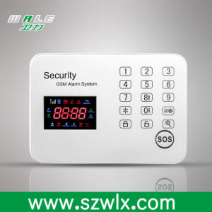 GSM Touch Keypad Wireless GSM Alarm System/ Burglar Alarm pictures & photos