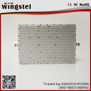 900/1800/2100MHz 2G 3G 4G Tri Band Signal Booster for Home Use pictures & photos