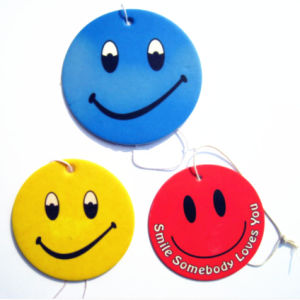 Customized Smile Car Air Freshener for Promotion Gift pictures & photos