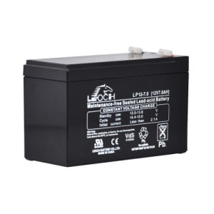 12V 7ah AGM Deep Cycle Solar Battery for Home System