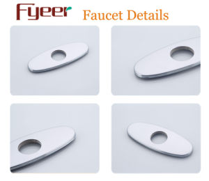 Oval Stainless Steel Faucet Baseboard Solid Water Mixer Tap Baseplate pictures & photos