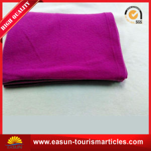 Low Price Plain Used for Car, Sleep, Air Conditioner Coral Fleece Blanket pictures & photos