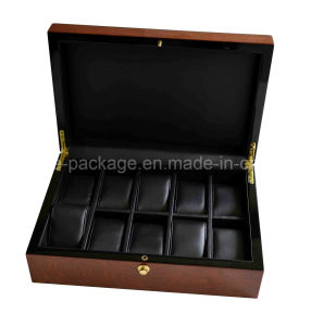 Custom 5 Slots High Quality Wooden Watch Box pictures & photos