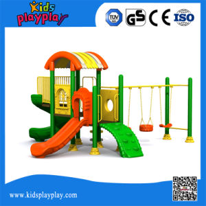 Free Custom Design Tree House Cheap Plastic Kids Outdoor Playground Sets pictures & photos