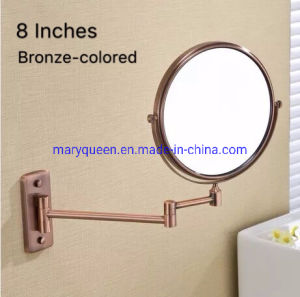 China 8 Bronze Dual Sided Vanity 1x 3x Or 5x Wall Mounted Makeup Mirrors China Led Mirror And Makeup Mirror Price