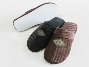 Indoor Winter Nice Warm Slipper for Men pictures & photos