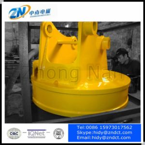 Excavator Lifting Magnet for Steel Scraps pictures & photos