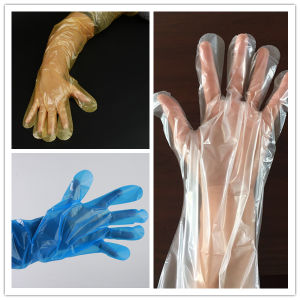 Long Arm Protective Gloves Medical Gloves pictures & photos