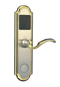 Red Bronze Zinc Alloy Celectronic Hotel Door Lock with Five Color pictures & photos