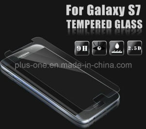 2.5D Cured Japanese Tempered Glass Screen Protector 0.33mm HD Clear Anti Scratch for Mobile Samsung S7