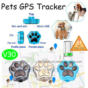 2017 New Hot Selling Waterproof Pets GPS Tracker (V30) pictures & photos