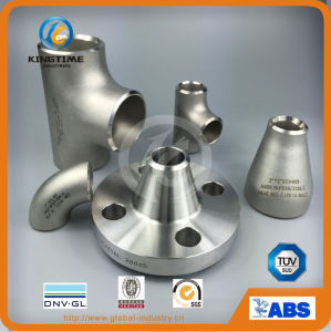 Stainless Steel Seamless Pipe Fitting Equal Tee with Ce (KT0365) pictures & photos