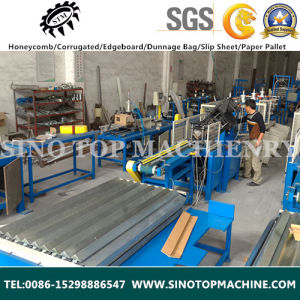 Paper Angle Board Notching and Punching Machine pictures & photos