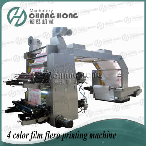 High Speed Four Color Film Flexo Printing Machine (CE) pictures & photos