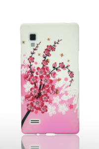 Coulorful Flower Design Mobile Phone Waterprinted TPU Case for LG Optimus L9 pictures & photos