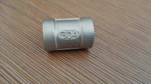 Casting NPT Thread Fittings Stainless Steel Coupling