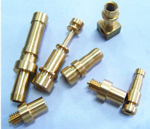 CNC Machining Brass Lamp Parts/Copper Sheet Plate Stamping Machinery Part pictures & photos