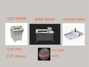 Manufacturer 18 Inch Program-Control Paper Cutting Machine (WD-4606R) pictures & photos
