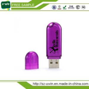 Plastic Rotate USB Flash Drives Customized Logo pictures & photos