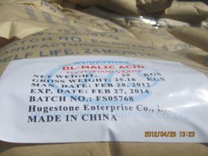 High Quality Dl-Malic Acid (MFCD00064212) pictures & photos