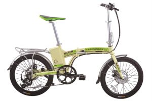 24 Inch Tire City Electric Bike with Lithium Battery