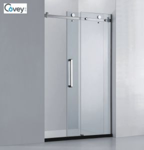 Bathroom Glass Sliding Door/Shower Screen with Ce/SGCC/CCC (A-CVP031-D)