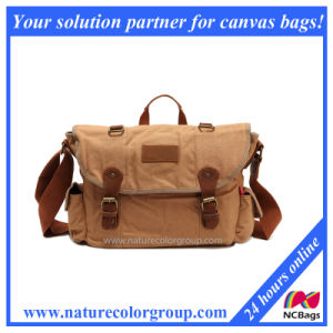 Single Shoulder Casual Messenger Canvas Bag (MSB-005)