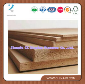 Raw Particle Pb Chip Board with Melamined pictures & photos