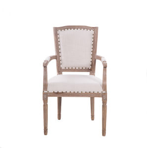 High Quality Most Populary Wholesaled Antique Wood Carved Arm Dining Chair