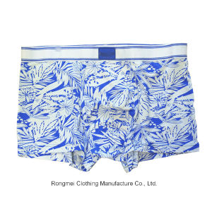 Fashion Cheap Underwear Boxers Brief Men with Print 73 pictures & photos