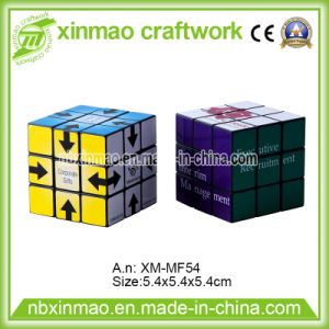 5.4cm Full Logo Puzzle Cube for Promo