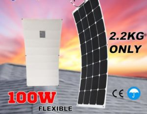 Best Price for 100W Flexible Solar Panel with TUV Certification