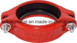 Ductile Iron 300psi NPT Threaded Reducing Fexible Coupling pictures & photos